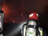 آتشسوزی انبار کالا در یک مرکز درمانی