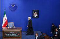 روحانی در نشست خبری با خبرنگاران +تصاویر