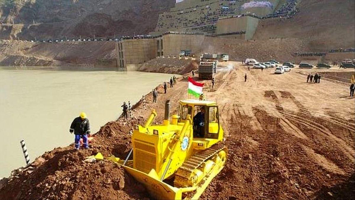 راه اندازی نخستین توربین نیروگاه «راغون» در تاجیکستان