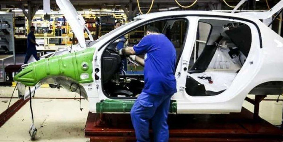 رشد ۱۱۷درصدی تولید خودرو در  آغاز  سال۱۴۰۰