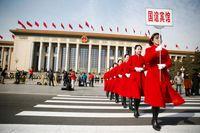 کنگره ده هزار نفره حزب کمونیست چین +تصاویر
