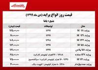 قیمت جدید خودرو پراید (شنبه ۲۰ دی)