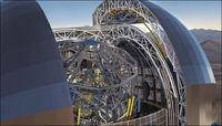 غول پیکرترین تلسکوپ دنیا در شیلی ساخته شد
