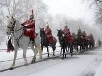بحران برف و سرما در انگلیس +تصاویر