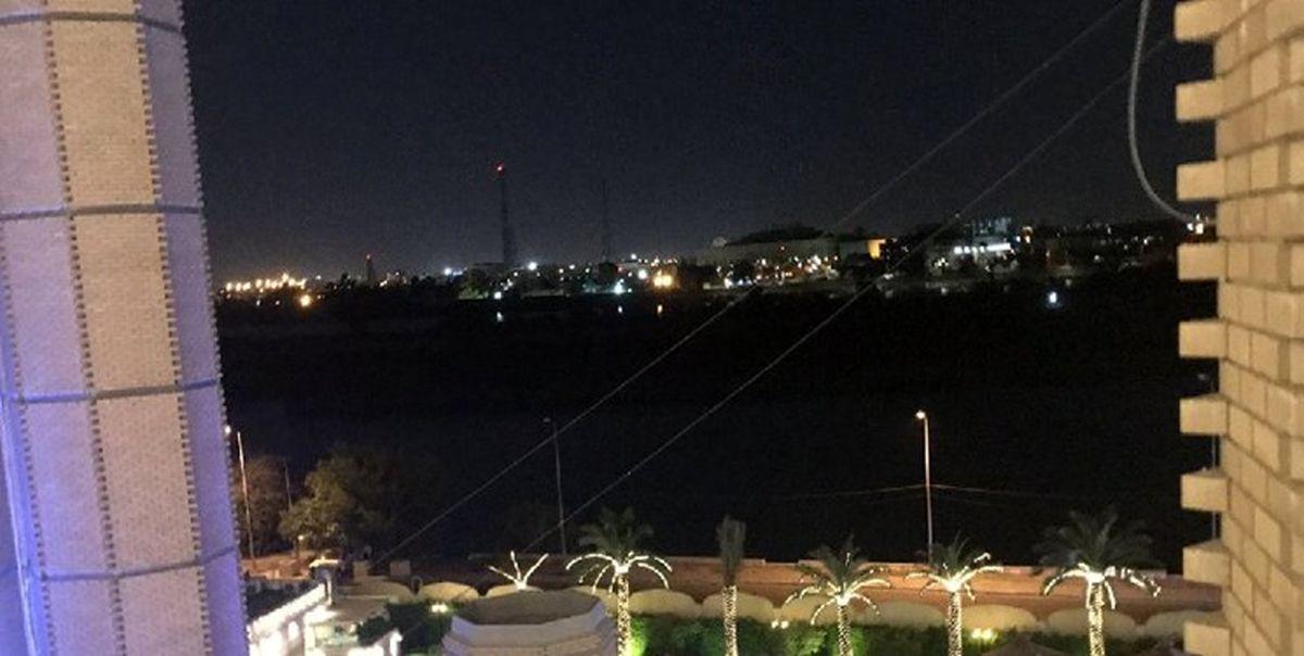 چند راکت به منطقه سبز بغداد برخورد کرد