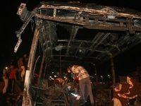 تصادف تانکر نفتکش و اتوبوس ارتباطی به سپاه ندارد