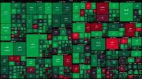 نقشه بورس امروز بر اساس ارزش معاملات (۲۳شهریور) / شاخص کل در ارتفاع یک میلیون و ۴۸۴هزار واحد قرار گرفت