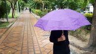 بارش اولین باران پاییزی در تهران +عکس
