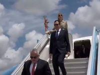 هیات اعزامی ترامپ برای انتقال سفارت به قدس، وارد سرزمینهای اشغالی شد +تصاویر