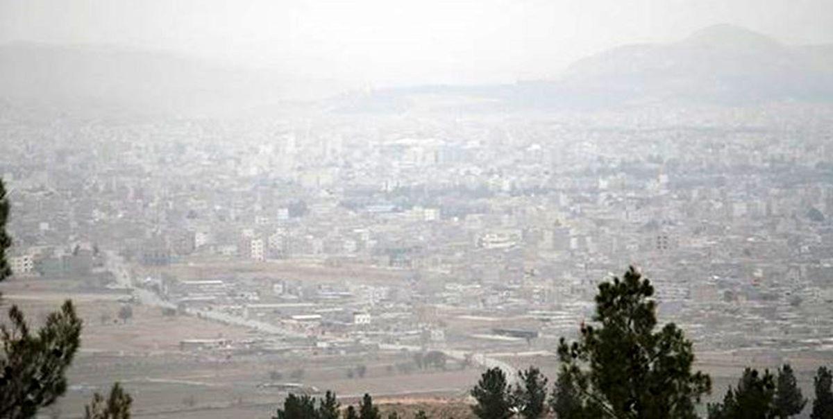 آلودگی هوای تهران طی پنج روز در مرداد ماه