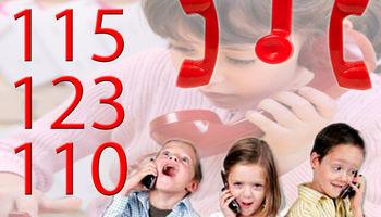 کودکان و چالش شمارههای اضطراری