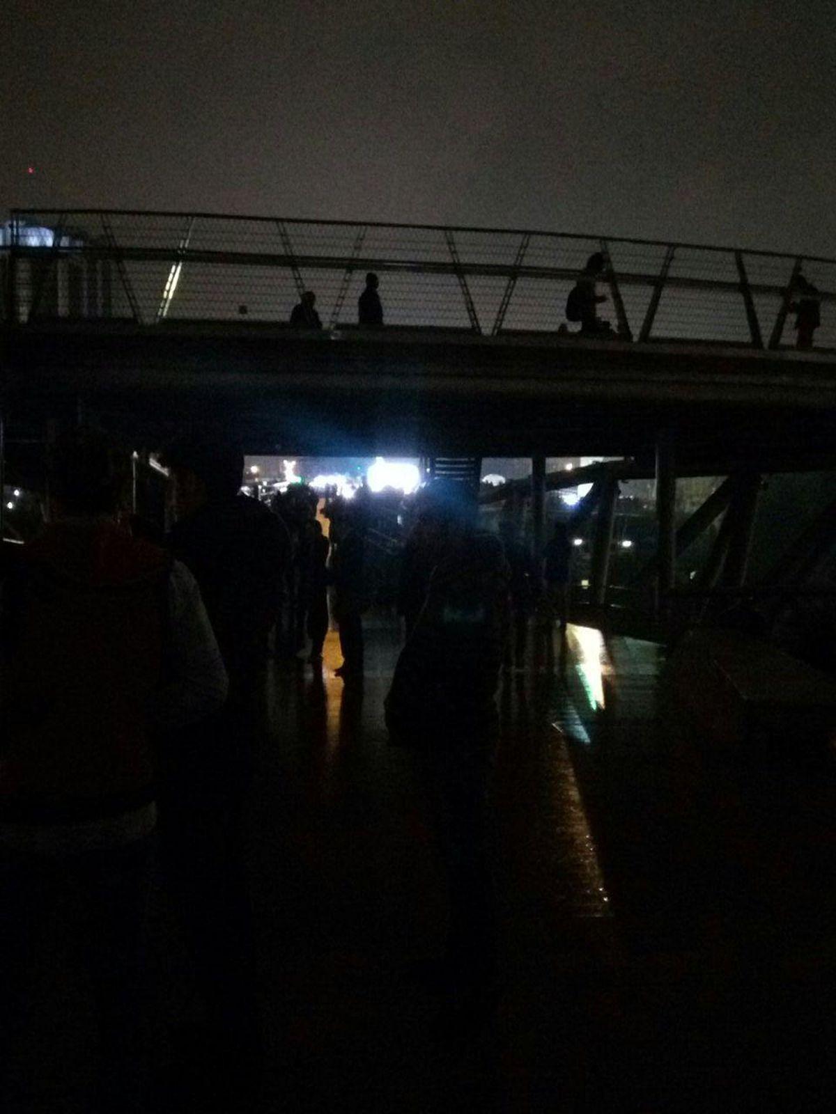 پل طبیعت خاموش شد +عکس