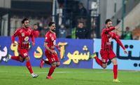 دیدار تیمهای فوتبال استقلال و پرسپولیس +عکس