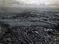 عکس هوایی از تهران در زمان قاجار!