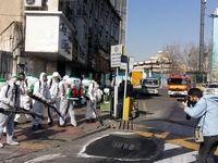فعالیت 1500نفر برای ضدعفونی و پاکسازی خیابان ولیعصر