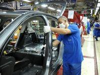 رشد ۴۵درصدی تولید در ایران خودرو