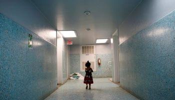 اسکان پناهجویان آمریکایی در کلیسا +تصاویر