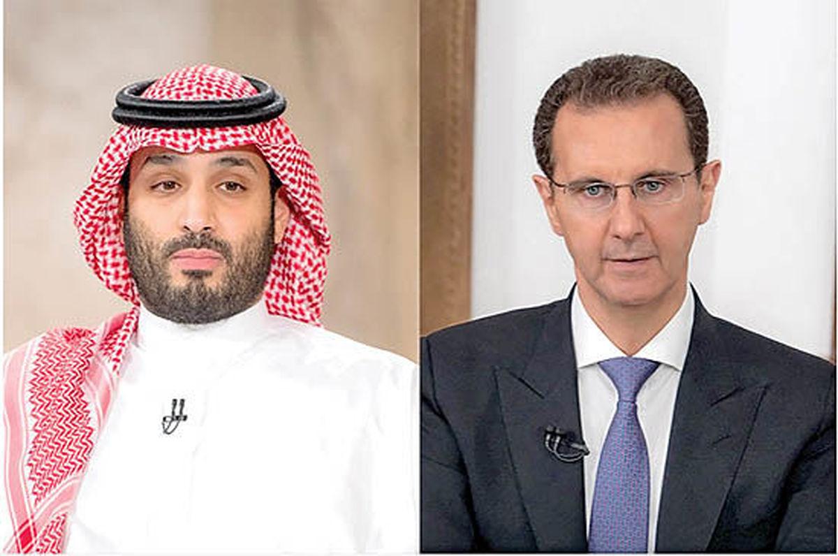 بن سلمان مشتاق تعامل با اسد