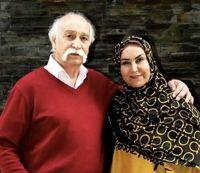 محمود پاک نیت و همسر و نوهاش +عکس