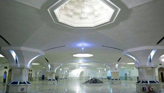 رواق جدید حضرت زهرا (س) ویژه بانوان در حرم رضوی +عکس