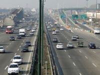 تردد در راههای برون شهری ۶.۳درصد افزایش یافت