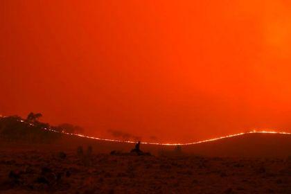 نبرد با آتش در استرالیا +عکس