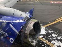 فرود اضطراری هواپیمای آمریکایی یک کشته داد