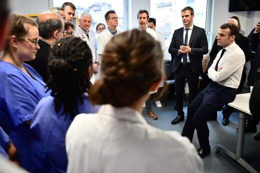 هشدار مکرون درباره همهگیری کرونا در فرانسه