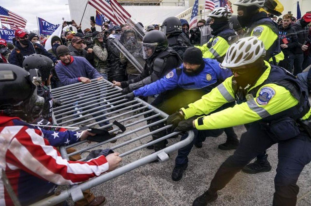 تلفات شورشهای کنگره آمریکا به 4 تن رسید