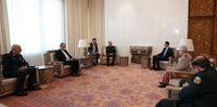 دیدار رئیس جمهور سوریه با سرلشکر باقری