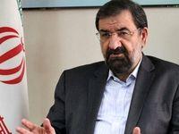 محسن رضایی: مذاکره با آمریکا به بهانه ماسک و دستکش سم مهلک است