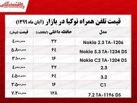 قیمت جدیدترین موبایلهای نوکیا در بازار +جدول