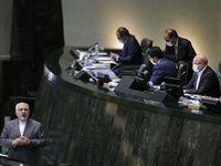 نشست علنی مجلس با حضور ظریف +عکس