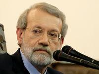 لاریجانی: کاندیدا انتخابات مجلس نمیشوم +فیلم