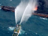 آتش سوزی در کشتی مسافری در سواحل کالیفرنیا