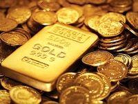 کاهش ۲۰ دلاری طلای جهانی و ۱۰ هزار تومانی قیمت سکه
