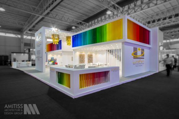 غرفه سازی نمایشگاهی و هزینه های طراحی و ساخت غرفه