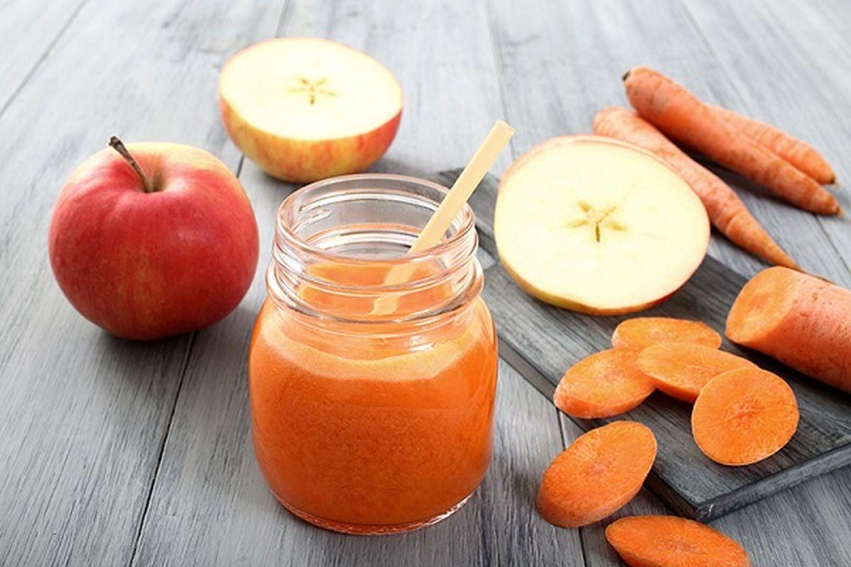 خواص شگفتانگیز آب هویج برای سلامت بدن