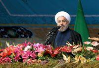 سخنان روحانی در مراسم راهپیمایی ٢٢بهمن +فیلم