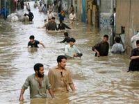 چهره ویرانگر بارشهای کم سابقه در استانهای خشک کشور