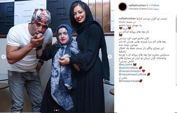 بوسه یوسف تیموری بر دست دختری خاص +عکس