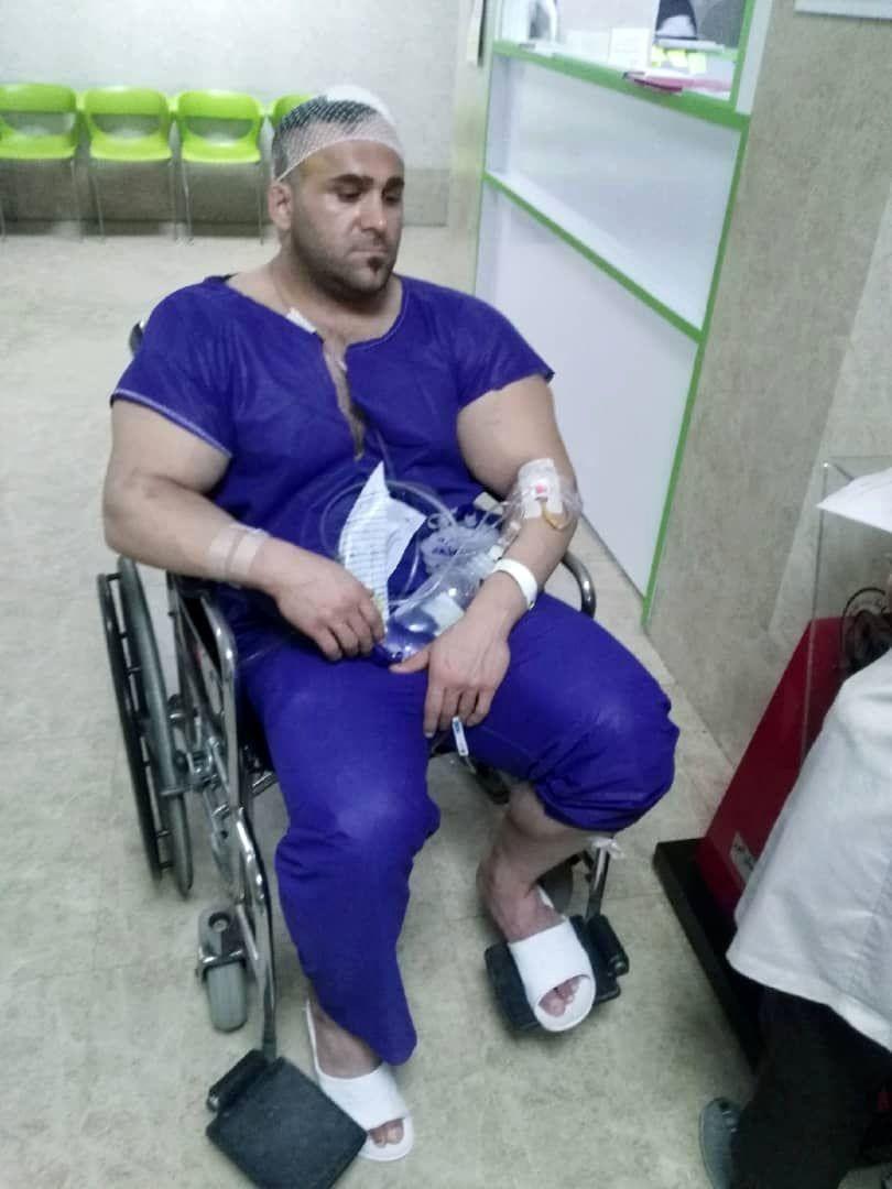 حمله با قمه به قهرمان پرورش اندام جهان در کرج +عکس+16