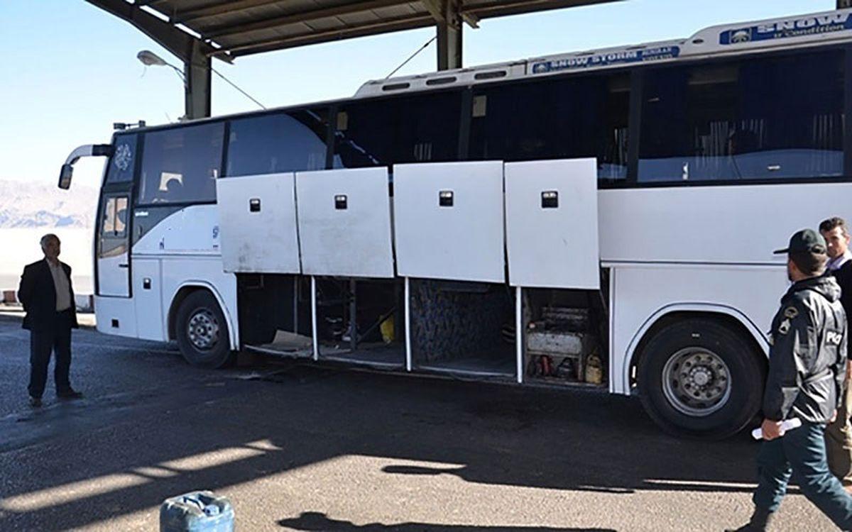 قاچاق کالا با اتوبوس تیم فوتبال!