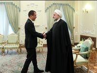 دیدار وزیر خارجه ونزوئلا با روحانی +عکس