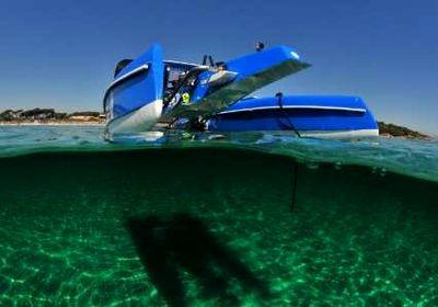 تجربه لذت رانندگی زیر آب +عکس