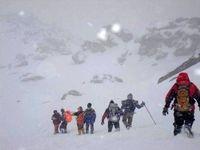 حادثه برای ۱۴کوهنورد در اشترانکوه لرستان