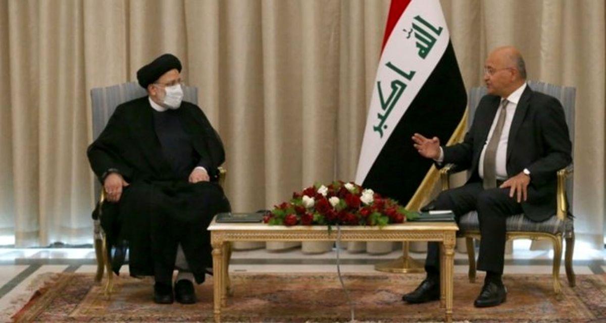 رییس قوه قضائیه با رییسجمهور عراق دیدار کرد