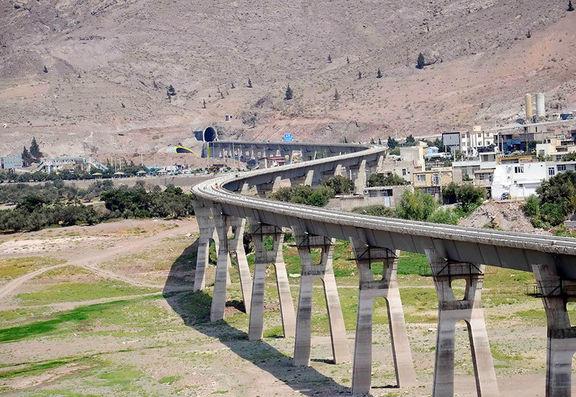 Image result for راه آهن قزوین رشت