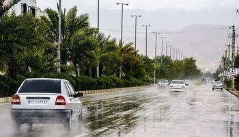 ادامه بارشها و تندبادهای لحظهای در برخی نقاط کشور