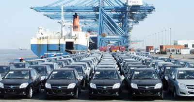 ۶۲ درصد؛ افزایش واردات خودرو